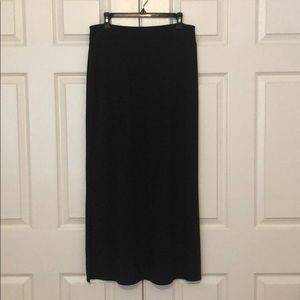 Faded Glory Black Maxi Skirt